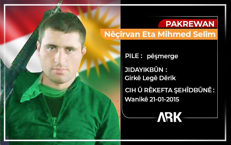 The sixth anniversary of the martyrdom of the Peshmerga Nichirvan Suleiman