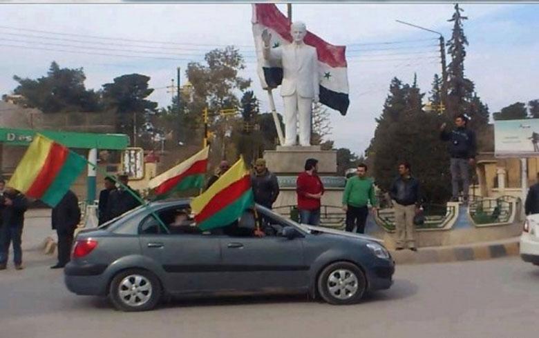 غدا, النظام يجري انتخابات في القامشلي و الحسكة