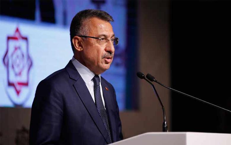 اجتماع في المجمع الرئاسي التركي من اجل المنطقة الآمنة