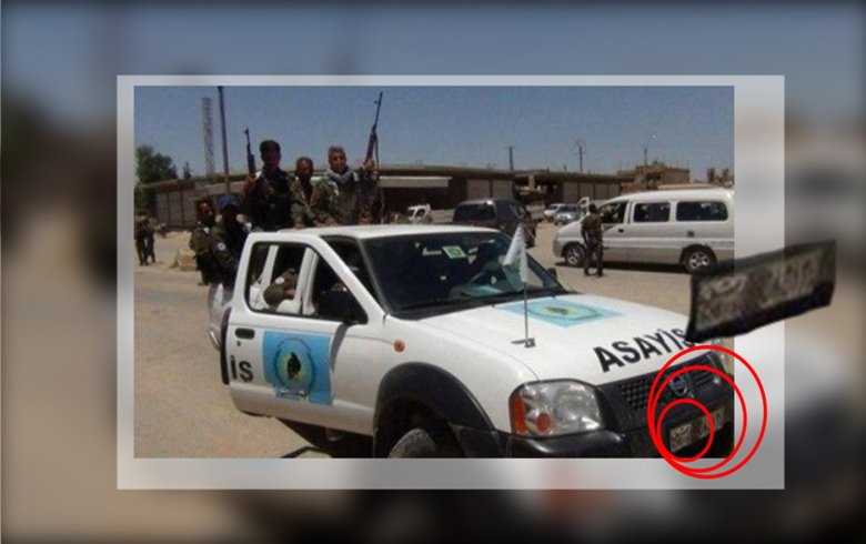 PYD cars carry billboards of the regime, while fines are imposed on citizens' vehicles