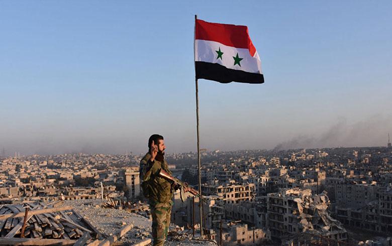 Civînek leşkerî Îranî, Sûrî, Iraqî li Şamê tê lidarxistin