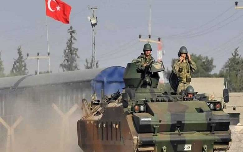 Turkish forces set up new military post on M4