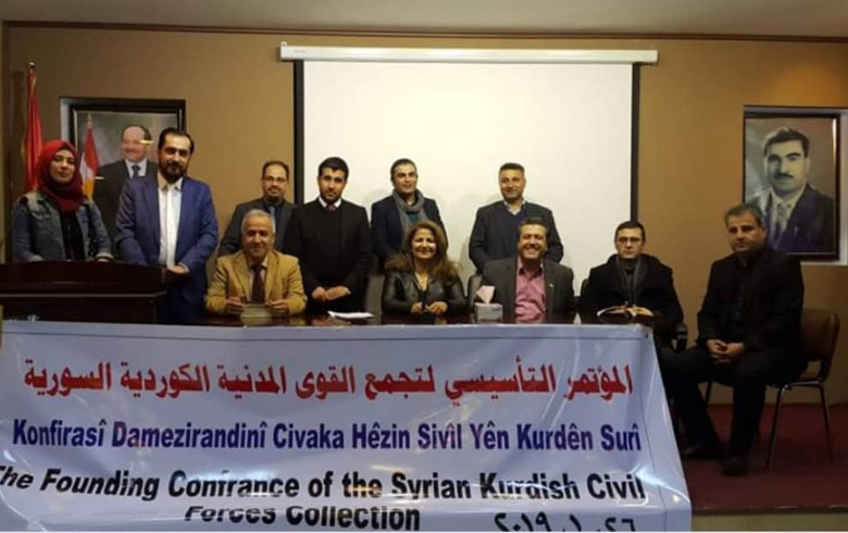 القوى المدنية الكوردية السورية تنتخب رئيسا لها