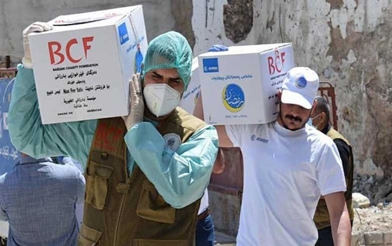 BCF delivers medical batch of anti-biotic to Syrian Kurdistan amid COVID-19 crisis