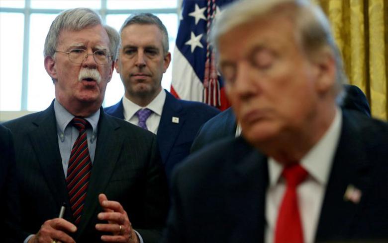 Con Bolton: Ez ditirsim Trump bi rihetî ji koçka spî dernekeve