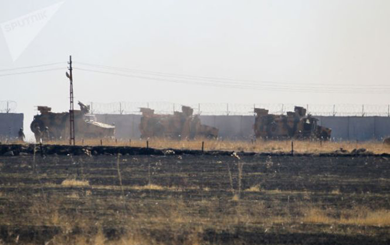 Russian Defense: The eighth Russian-Turkish patrol begins work on the Syrian-Turkish border