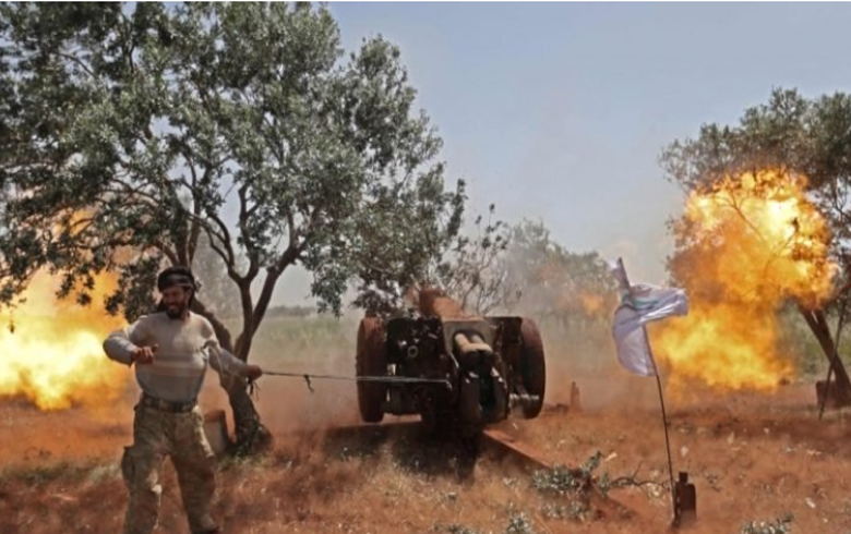 Exchange of shelling and clashes renew between the pro-Turkey factions and the PYD militants in the north of Aleppo