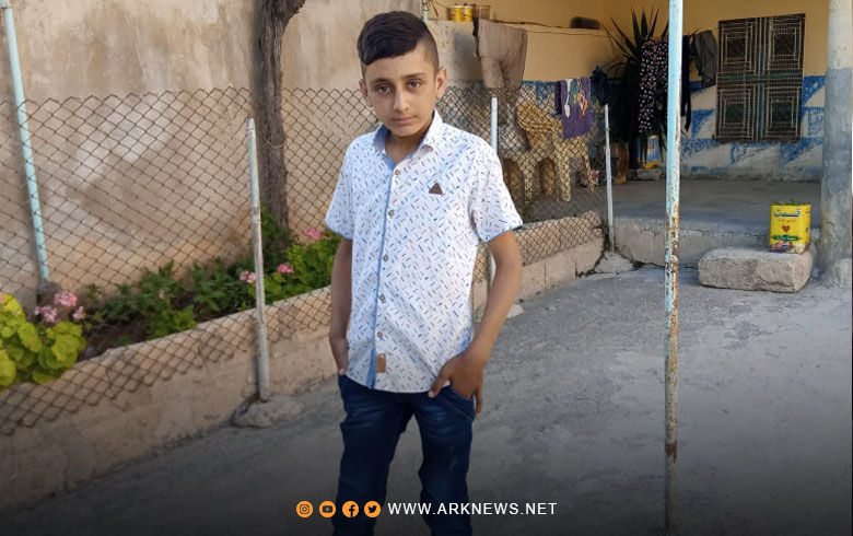 مصير مجهول لطفل كوردي في عفرين