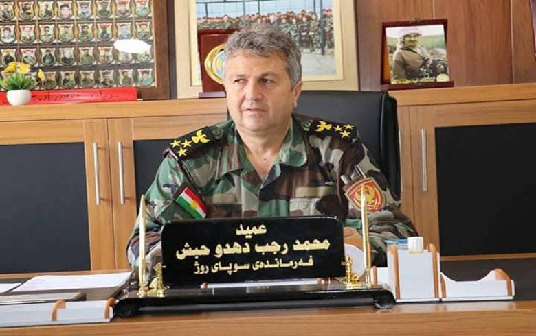 رسالة تهنئة من قائد قوات بيشمركة روج