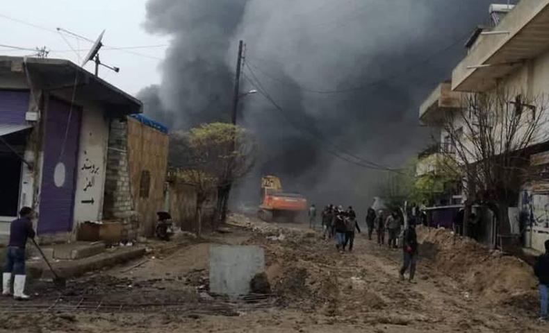 انفاق PYD تعلن الحرب على المدنيين