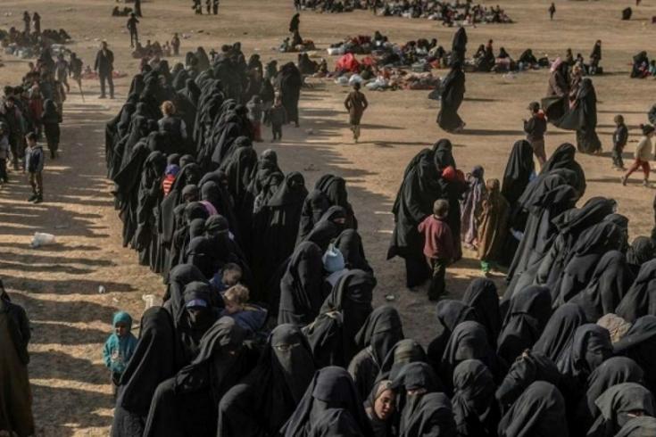 دراسة بلجيكية: 600 طفل من أبناء دواعش أوروبا محتجزون بمخيمات تحت سیطرت قسد