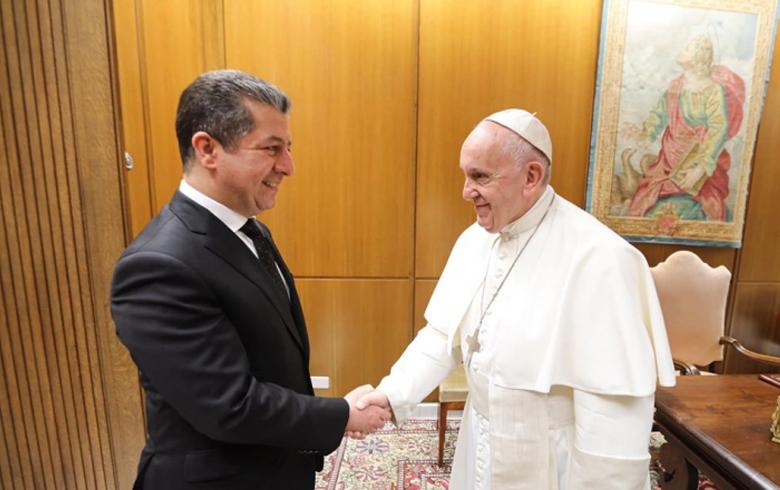 Papayê Vatîkanê pesna Hikûmeta Kurdistanê da