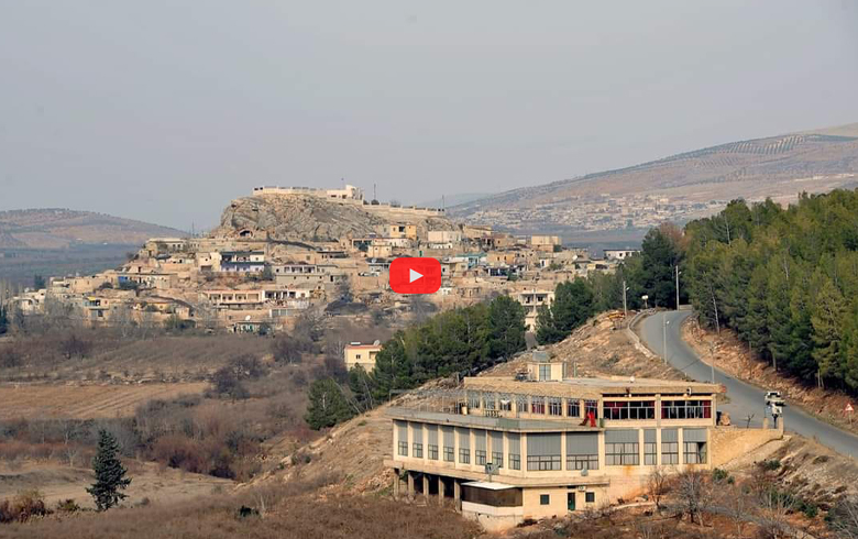 بالفيديو... انفجار في بلدة باسوطة بعفرين