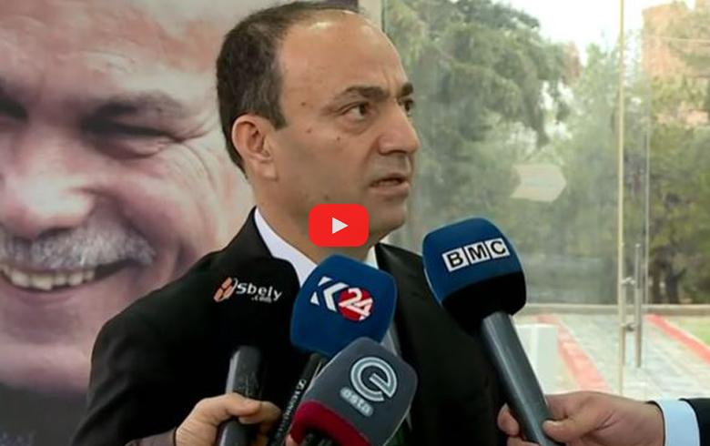 عثمان بايدمير يكشف سبب زيارته لكوردستان