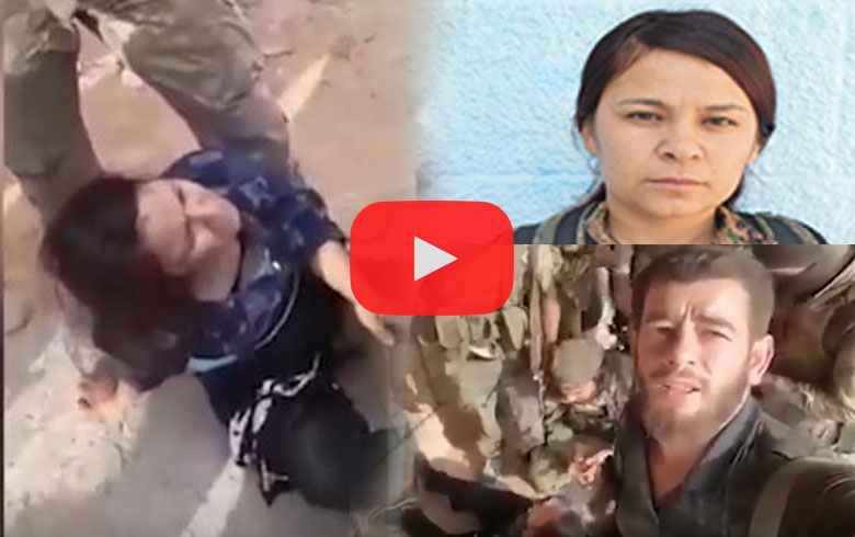 """""""Dart Izza Battalion"""" captures female fighter from SDF and threatens to be slaughtered (video)"""