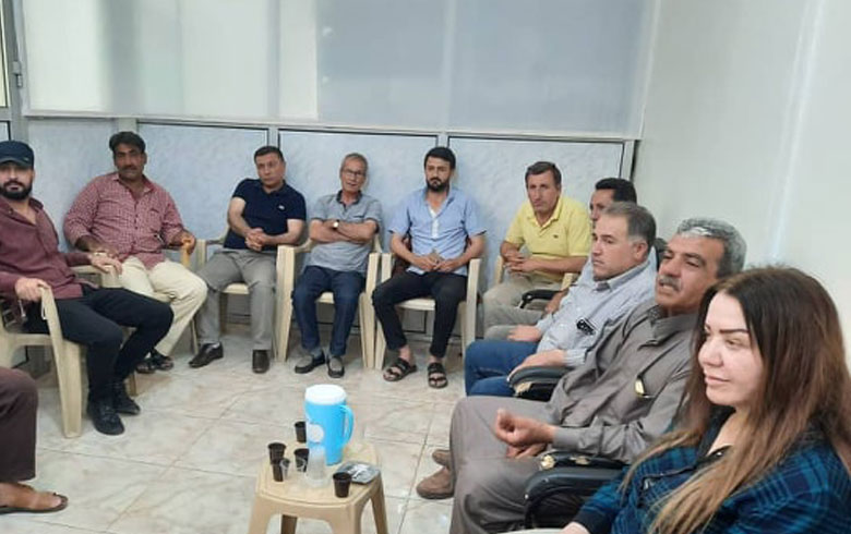 Election of a president and new members for the ENKS Local Council Presidency office in Derbasiya