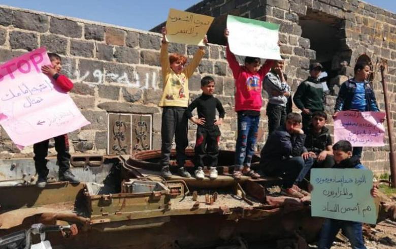 Sedemên vegera liv û tevgera sivîla ya aştiyane li bajar û bajarokên Sûriyê çi ne?