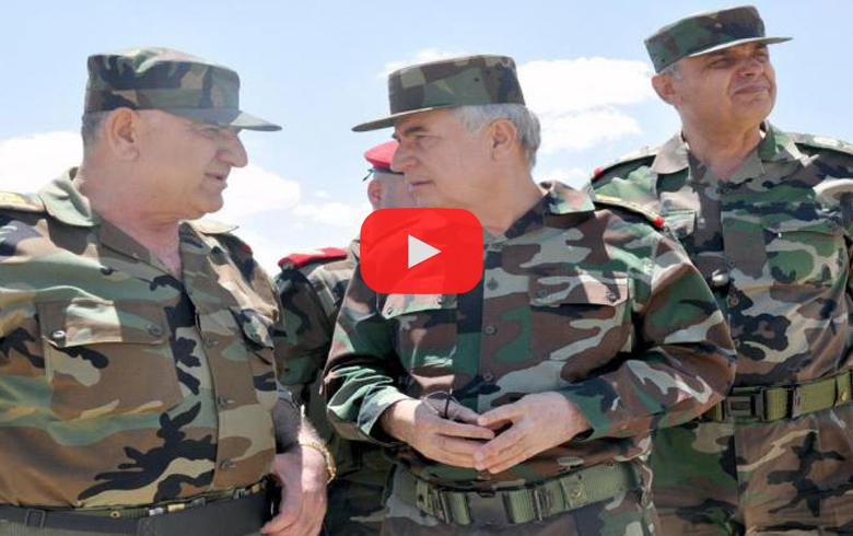 بالفيديو .. وزير دفاع الأسد يفضح سليماني