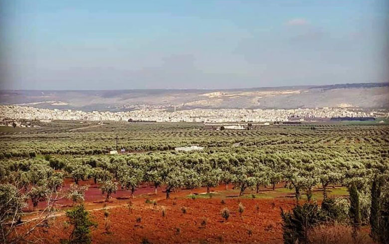 The exit of dozens of al-Amshat militias from Afrin