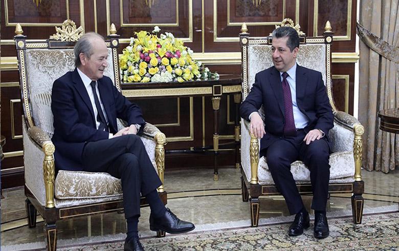 مسرور البارزاني يشدد على ضرورة ضمان حقوق كافة المكونات في سوريا