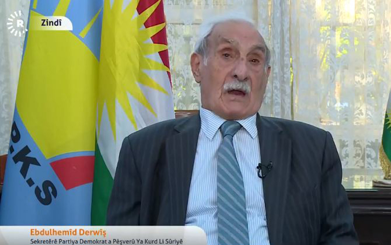 Abdul Hamid Darwish: We do not accept that the PYD becomes as