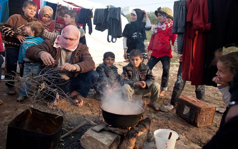 UN: 400,000 civilians displaced from northwestern Syria
