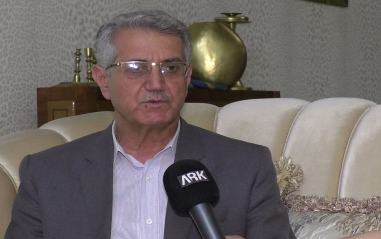 Mohammed Ismail: We discussed the situation of Afrin with President Barzani