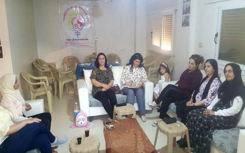 مكتب المرأة للـ ENKS یدین بشدة الانتهاكات بحق نساء عفرين