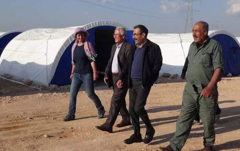 Right Organization: PYD officials prevent IDPs from returning to Afrin and Aleppo