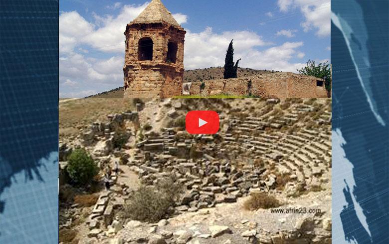 بالفيديو... أضخم عملية جرف و نهب يتعرض له موقع قلعة النبي هوري بعفرين