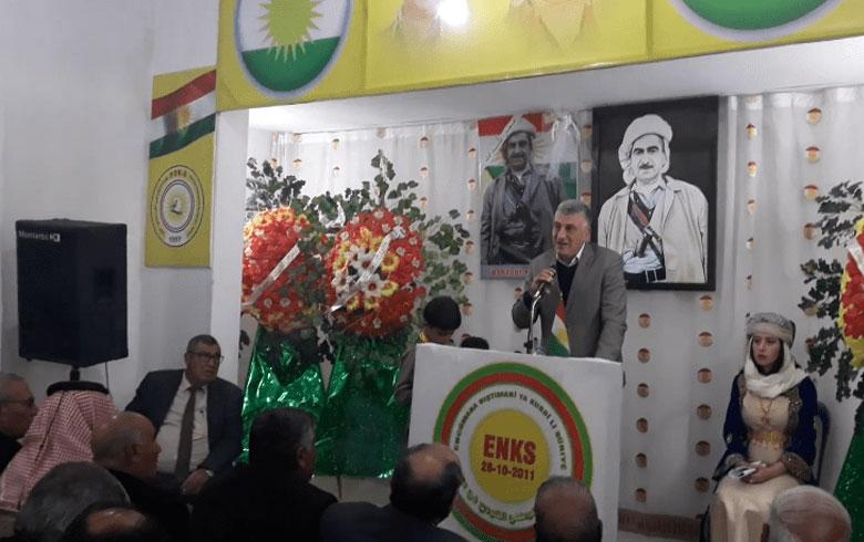 كوباني... ENKS يحیي ذكرى مرور 42 عاماً على رحيل الملا مصطفى بارزاني
