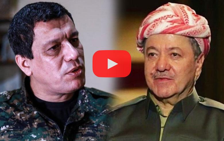 قائد قسد یشكر الرئیس بارزانی و يدعو إلى الوحدة بين ENKS و PYD في سوريا