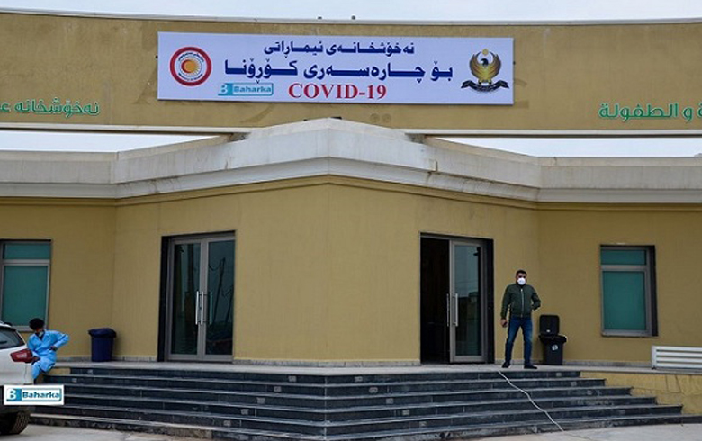 Three infected people in Erbil are recovering, bringing the number of recovering people to 10