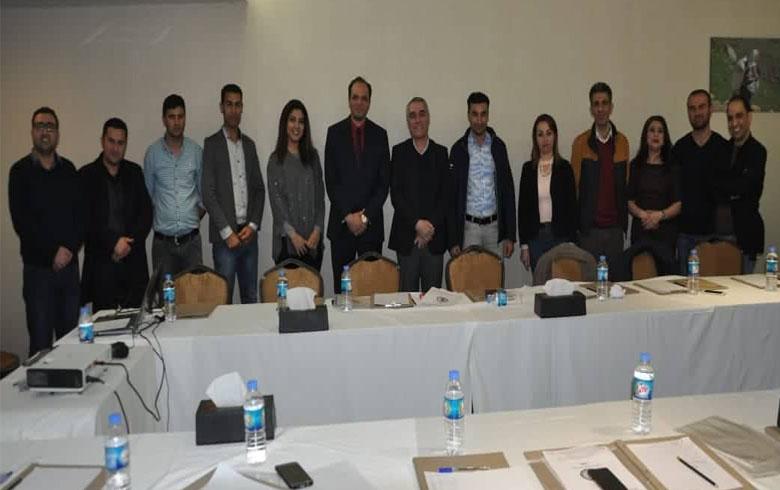 برعاية المجلس الوطني مجموعة من الكوادر الإعلامية تنهي دورة في لصحافة الاستقصائية