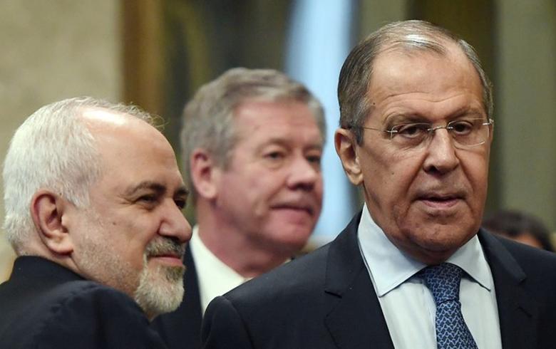 لافروف وظريف يبحثان الأوضاع بسوريا والاتفاق النووي الإيراني في موسكو غدا