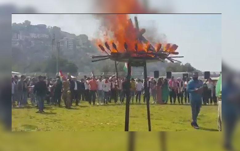 منظمة لبنان للـ PDK-S يحتفل بعيد نوروز