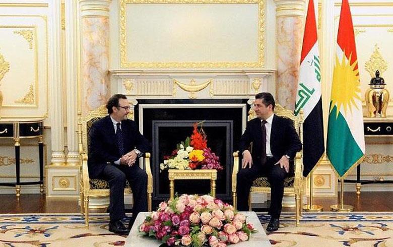Mesrûr Barzanî : Ji ber rewşa Rojavayê Kurdistanê em dilgiran in