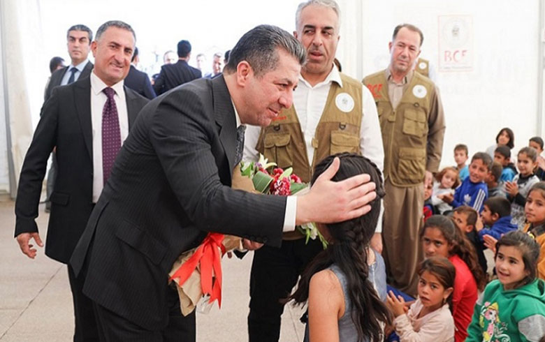 Masrour Barzani: We are proud of our nation, which has not hesitated to provide shelter to those who need it