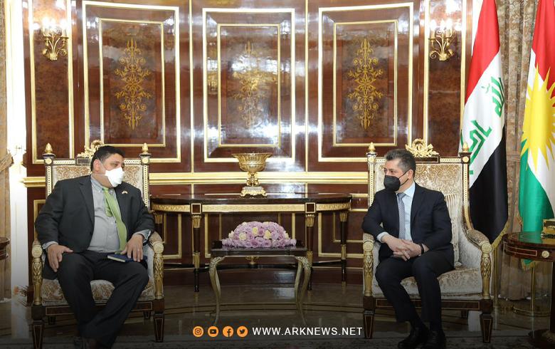 مسرور بارزاني و بروانشتاين يؤكدان على دعمهما للمفاوضات الكوردية في سوريا