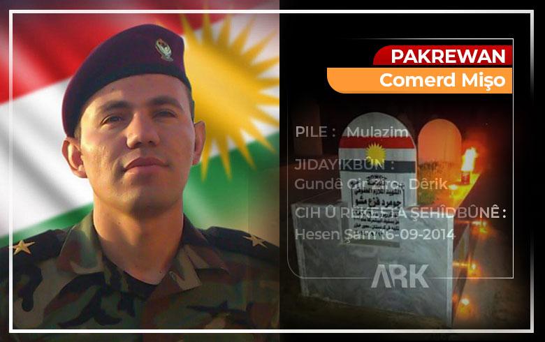Şêwekarekî Kurd gora Pakrewan Comerd Mişo nû kir
