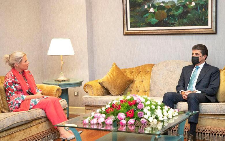 الرئيس نيجيرفان بارزاني يشير إلى الدور الإيجابي للأمم المتحدة في العراق