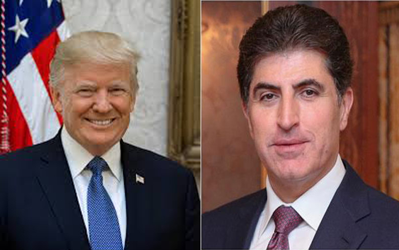 Kurdistan President and Trump to Meet in Davos