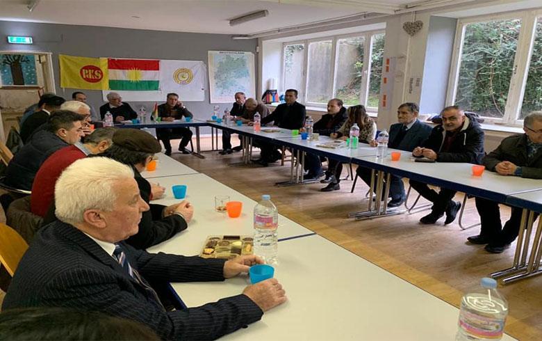 ألمانيا .. PDK-S يناقش لقاء ENKS مع جيفري والانتهاكات في المناطق الكوردية