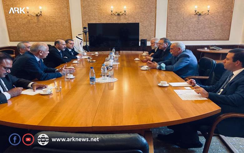 سیرغي لافروف وزير خارجية روسيا يلتقي مع وفد هيئة السلام والحرية