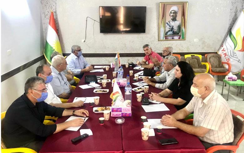 الـPDK-S  يعقد اجتماعا مع الـ P.Y.K.S بقامشلو