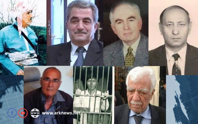 المناضلون الذين عارضوا مشروع الحزام العربي العنصري في كوردستان سوريا