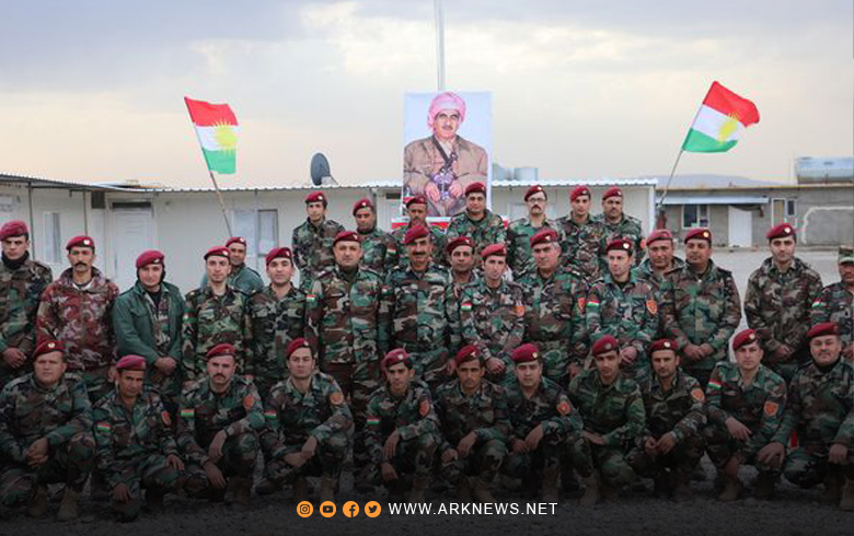 Roj Peshmerga celebrates the forty-second anniversary of the departure of Barzani the immortal