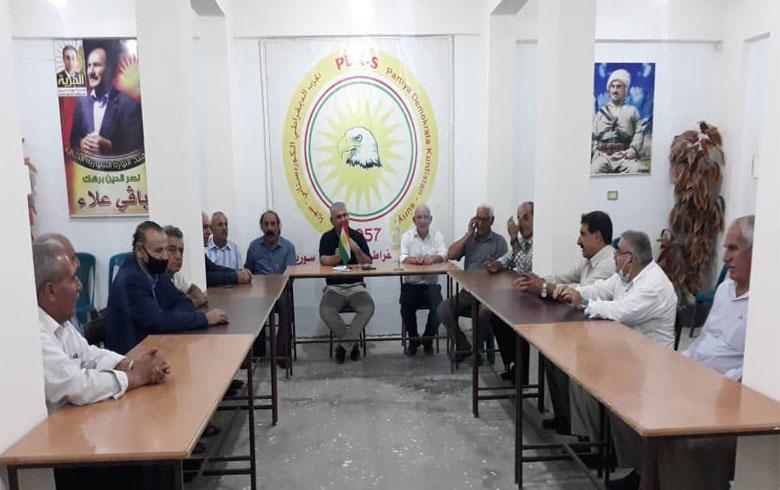 كوردستان سوريا... PDK-S يستضيف وفداً من عوائل بيشمركة روج
