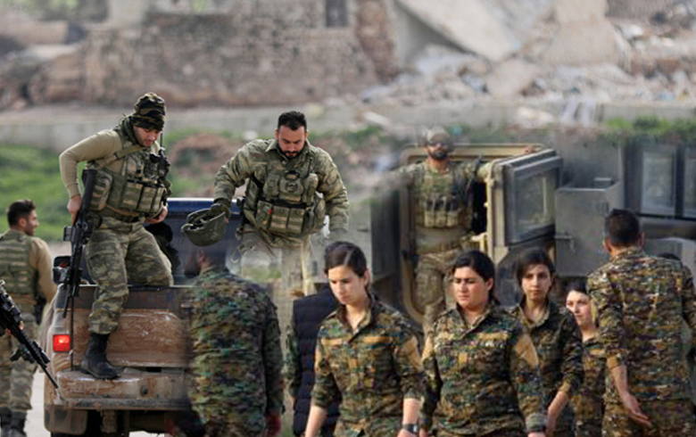 Exchange of fire and violent clashes continue between Ankara-backed factions and SDF in Ayn Isa