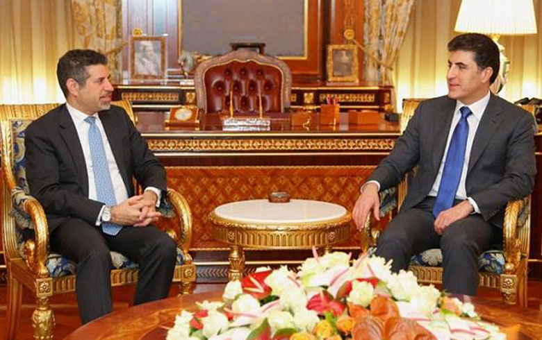 بارزاني والقنصل الأمريكي يتباحثان أوضاع المنطقة
